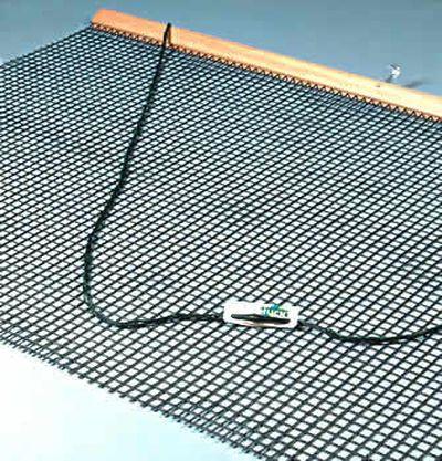 Huck Tennis-Schleppnetz mit einfacher Netzlage und 2cm-Maschen