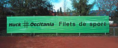 Huck Tennisplatz-Blende 2 x 12 m