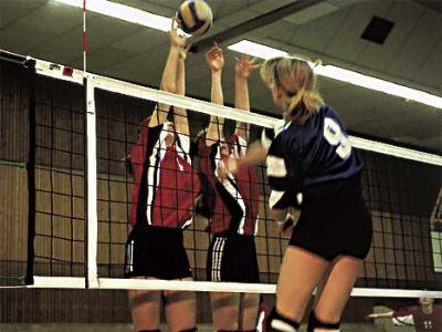 Huck Volleyballnetz nach DVV I - Polypropylen hochfest 3 mm