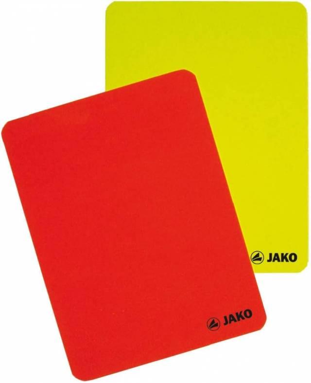 Jako Schiedsrichter Karten-Set