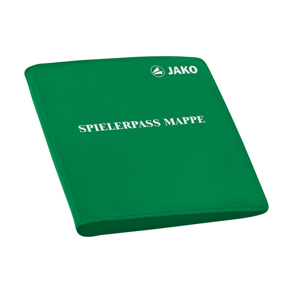 Jako Spielerpass-Mappe klein in grün
