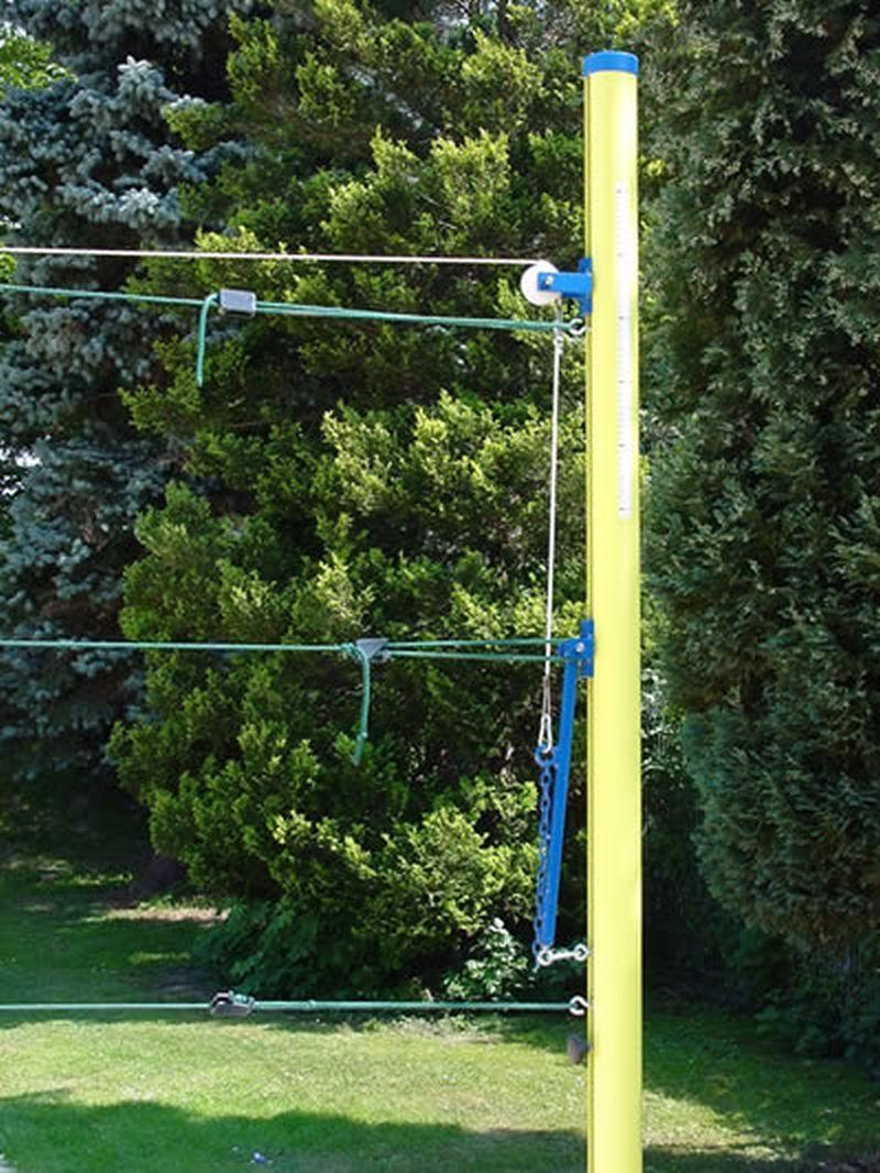 """Jobasport Beach-Volleyballpfosten """"Miami"""" - Profil rund 83 mm (Paar)"""