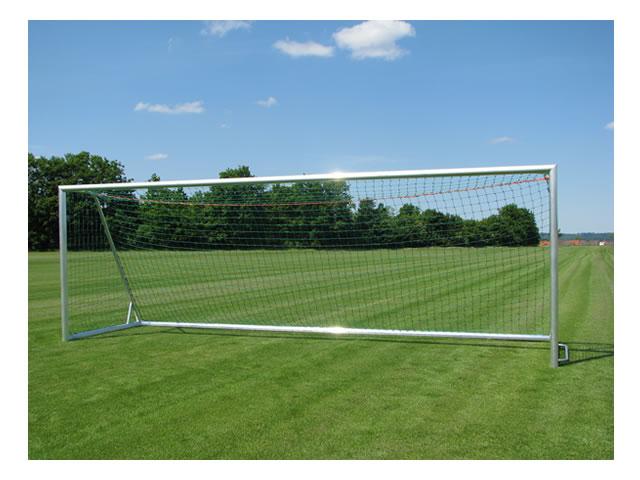 """Jobasport Fußballtor """"Robust Super GS + DIN"""" - 7,32 x 2,44 m, transportabel, Seitenteile verschweißt"""