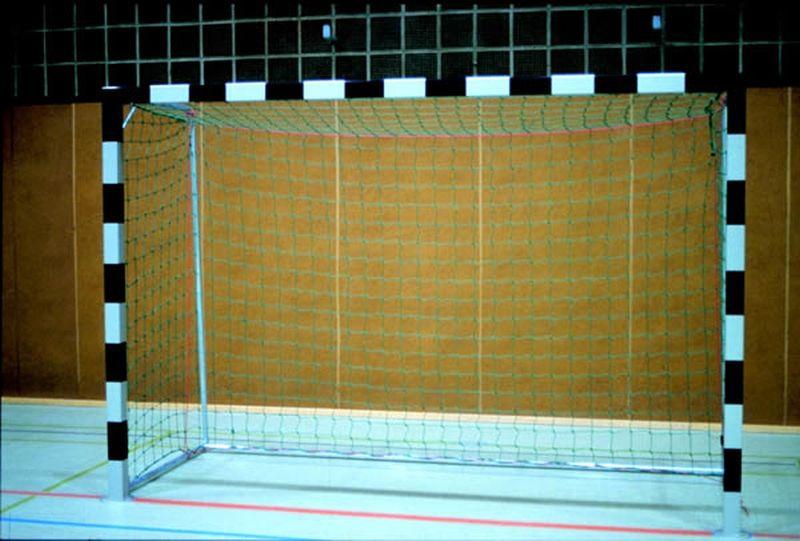 Jobasport Handballtor in Bodenhülsen - 3  x 2 m (ohne Netzbügel und Bodenrahmen)