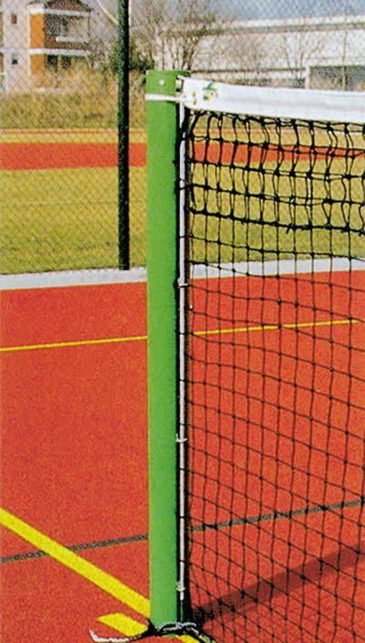 Jobasport Tennisnetz-Säulen Alu-Rundprofil 83 mm, Paar
