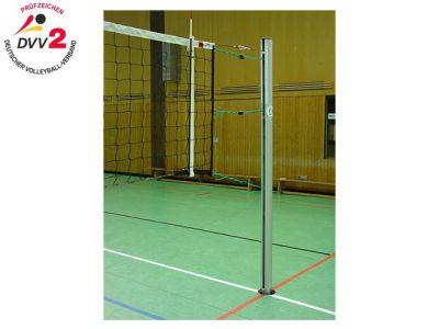 Jobasport Volleyballpfosten rund 83 mm nach DVV II/TÜV - Paar -