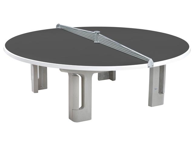 Maillith Tischtennistisch RONDO, 2-teiliges Stahlnetz Farbe Blau 1109-BLAU