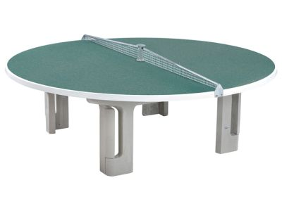 Maillith Tischtennistisch RONDO, 2-teiliges Stahlnetz