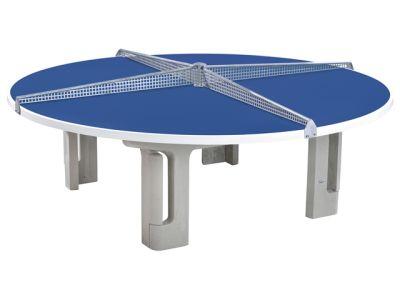 Maillith Tischtennistisch RONDO, 4-teiliges Stahlnetz