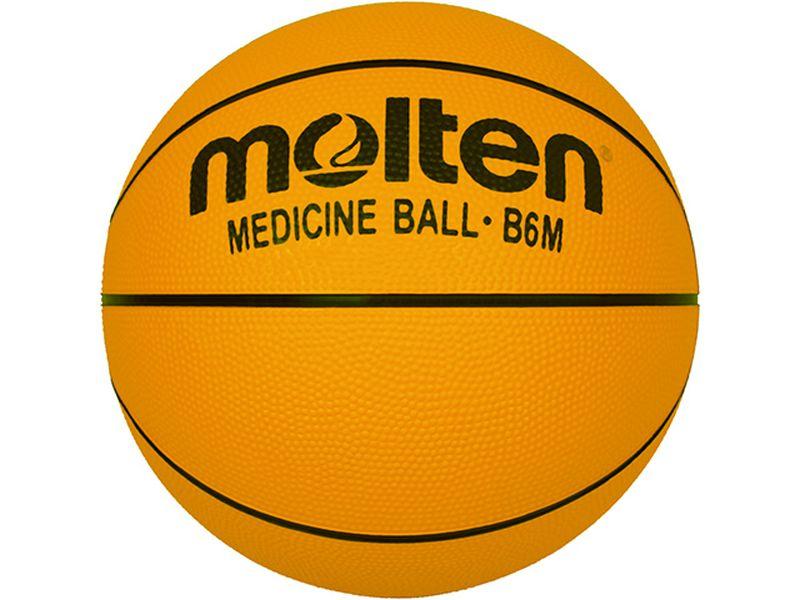 Molten Basketball Gewichtsball, Gummi, 1.200g Gr. 6
