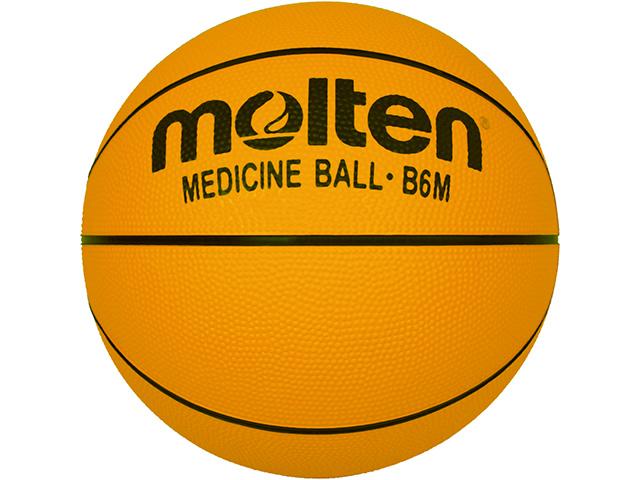 Molten Basketball Gewichtsball, Gummi, 1.200g Gr. 6 B6M-6