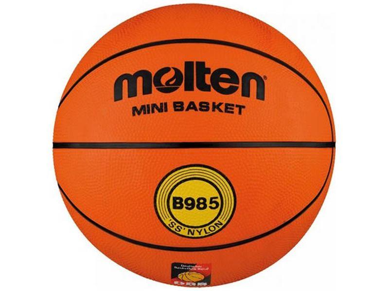 Molten Basketball Top-Trainingsball DBB geprüft (B985) Gr. 5