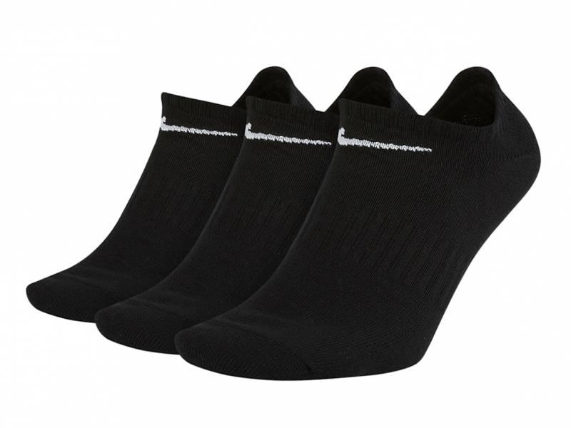 Nike U NK Everyday ltwt ns 3pr (schwarz/weiß)