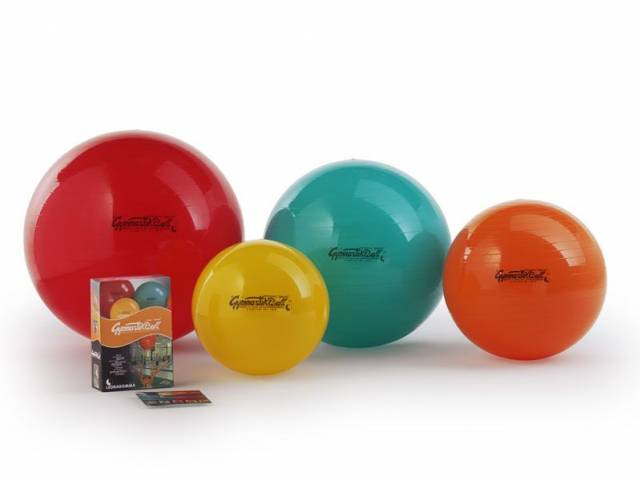 Original Pezzi Gymnastik Ball 42 cm, gelb