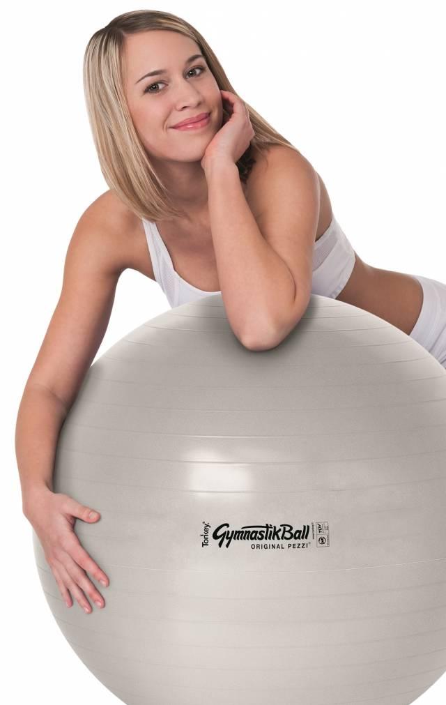 Original Pezzi GymnastikBall BioBased, 75 cm, sand