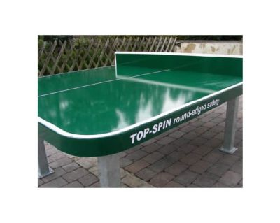 Product Stationärer Außen-Tischtennistisch TOP-SPIN round-edged safety