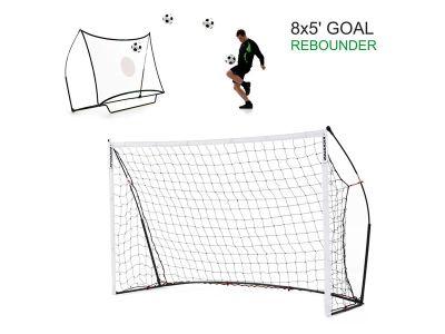 Quickplay Sport Kickster Combo Tor und Ballprallwand 2,4 x 1,5 m