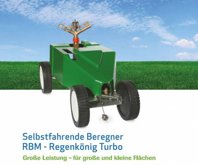 RBM Turbo 205 Super Regner mit 135m Seil