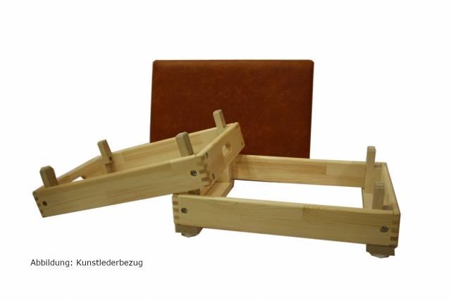 Roweco Sprungkasten Massiv 3-tlg, 70x50x40 cm