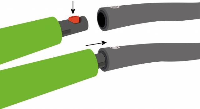 Schildkröt Fitness-Hoop / Hula-Hoop Power Ring