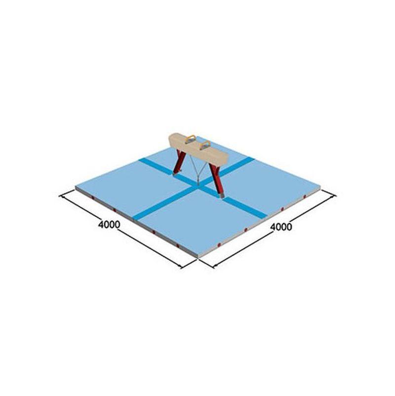 Spieth Gymnastics Pauschenpferd - Mattensatz international