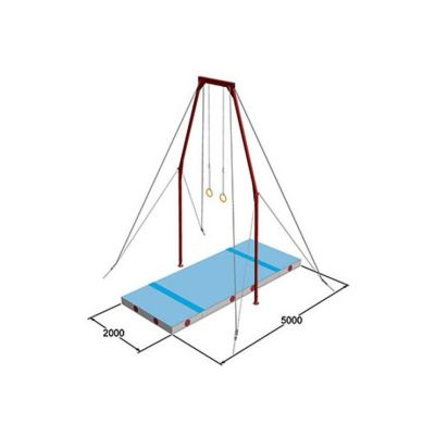 Spieth Gymnastics Ringe - Mattensatz international
