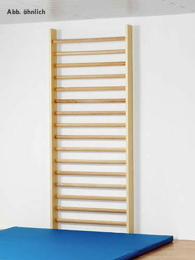 Sportgeräte Langer Einzelsprossenwand mit 14 Sprossen, 210 cm x 80cm