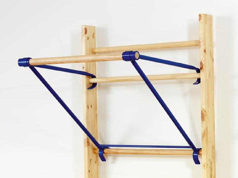Sportgeräte Langer Klimmzugbügel für Sprossenwände