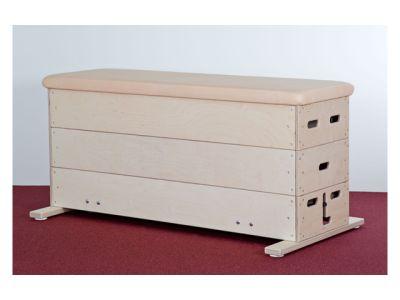 Sportgeräte Langer Sprungkasten 3-tlg, Eco-Line 150x50x70 cm