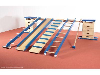 Sportgeräte Langer Sprungkastenkombination