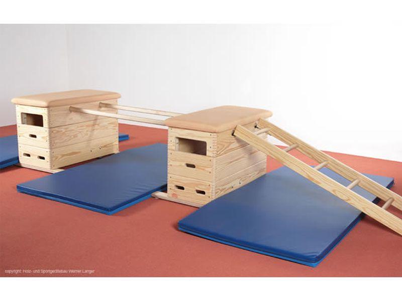 Sportgeräte Langer Vario-Mini-Sprungkasten Set