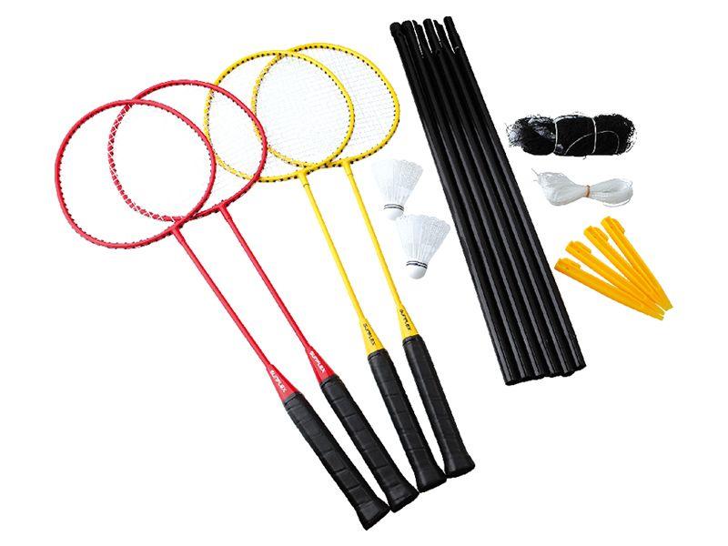 Sunflex Badminton Challenge 4er Set
