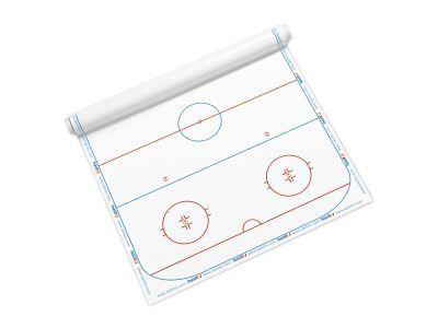 Taktifol selbsthaftende Folie - Eishockey