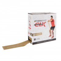 Thera-Band CLX Rolle 22m, gold/maximalstark