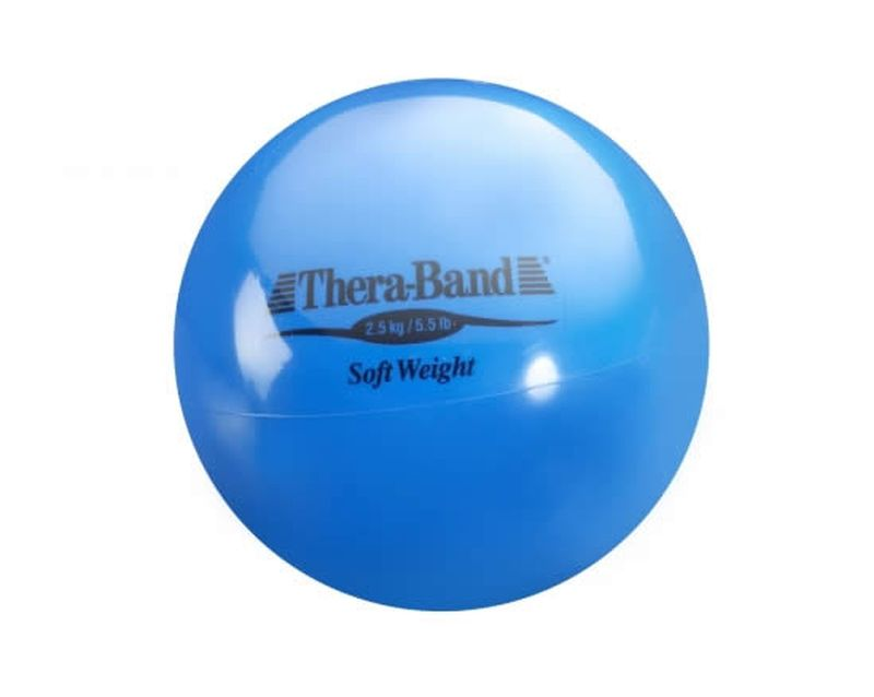 Thera-Band Soft Weights blau, 2,5 kg Ball