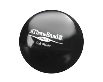 Thera-Band Soft Weights schwarz, 3,0 kg Ball