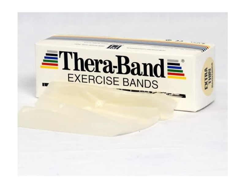 Thera-Band Übungsband beige / extra dünn, 5,5 m Rolle