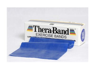 Thera-Band Übungsband blau / extra stark, 5,5 m Rolle