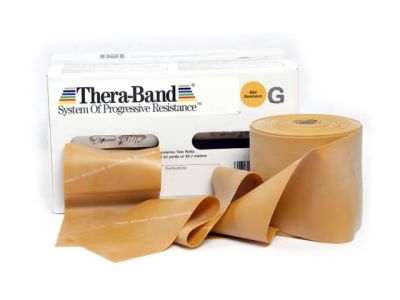 Thera-Band Übungsband gold / max stark, 45,5 m Rolle