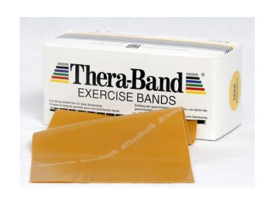 Thera-Band Übungsband gold / max stark, 5,5 m Rolle