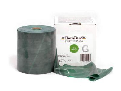 Thera-Band Übungsband grün / stark, 45,5 m Rolle