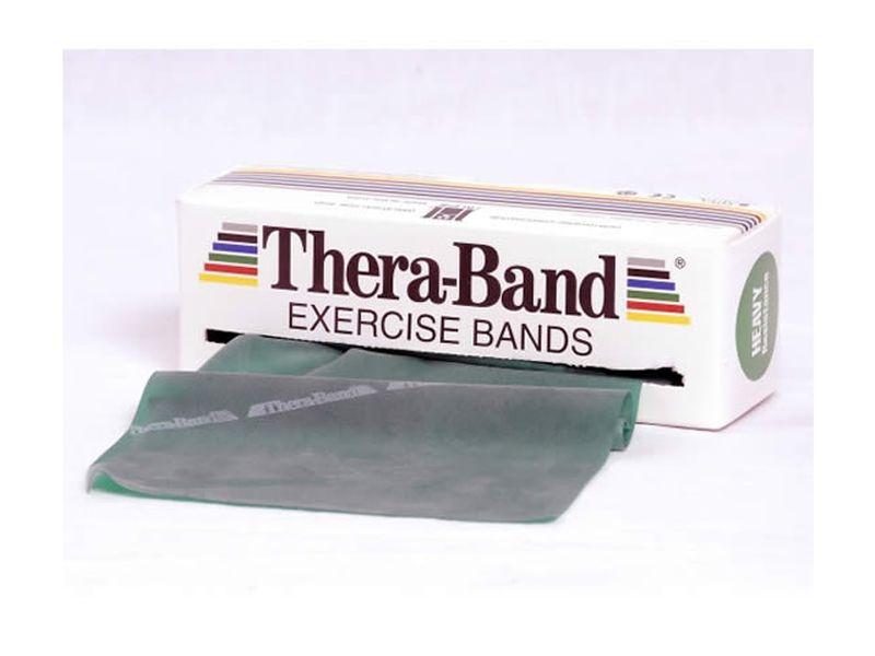 Thera-Band Übungsband grün / stark, 5,5 m Rolle