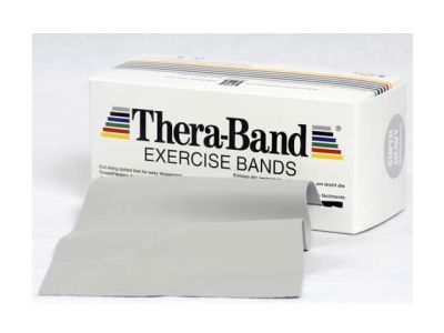 Thera-Band Übungsband silber / super stark, 5,5 m Rolle