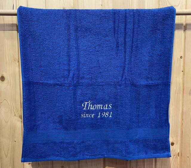 Towels by Jassz Badetuch (bestickbar), 70 x 140 cm, grau
