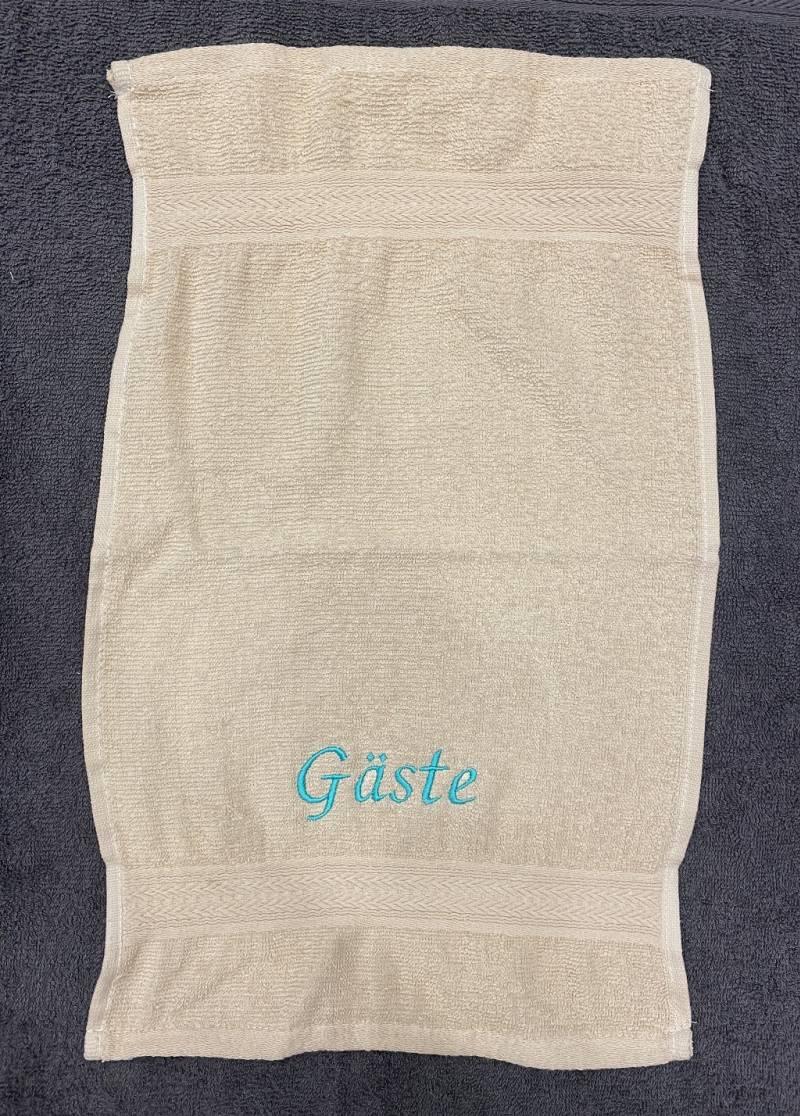 Towels by Jassz Gästehandtuch (bestickbar), 30 x 50 cm