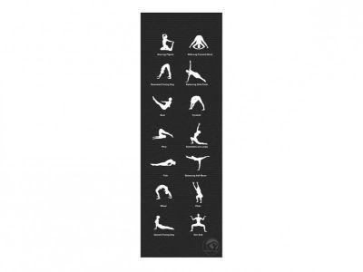 Trendy Sport YogaMat Home, anthrazit