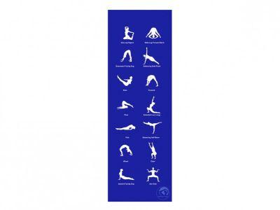 Trendy Sport YogaMat Home, blau