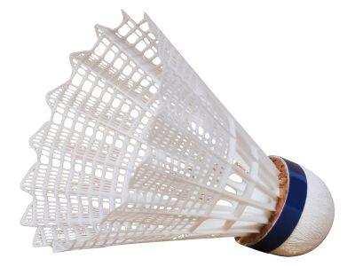 Victor Badmintonbälle Nylon Shuttle 3000 Platin, weiß